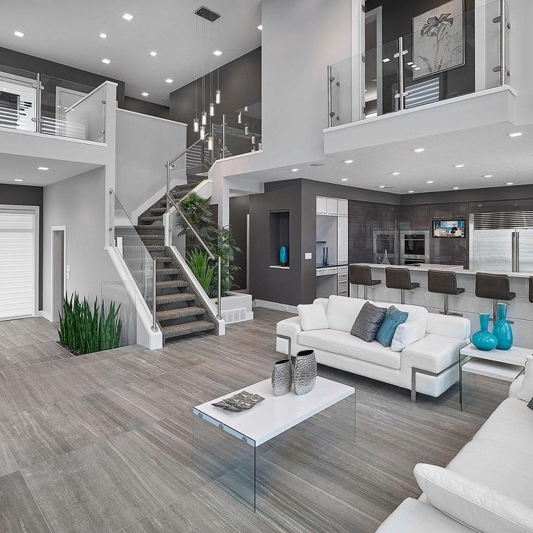 pavimento grigio-living-contemporaneo