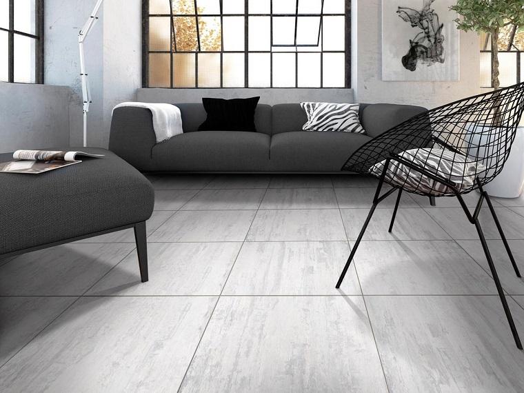 Pavimento grigio tutte le sfumature dell 39 eleganza in for Arredamento grigio
