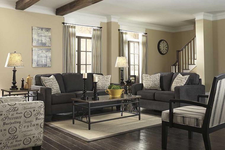 pavimento-grigio-salotto-stile-classico