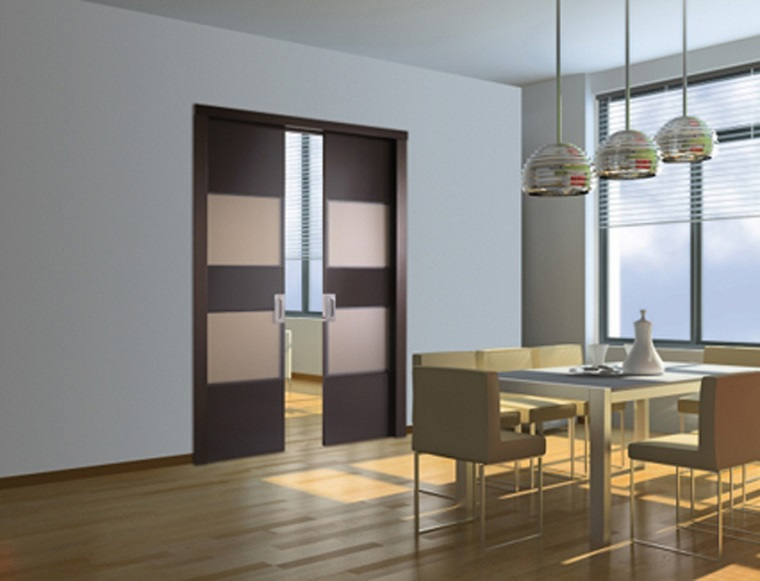 Porte scorrevoli 50 soluzioni dal design sorprendente for Porte per dividere ambienti