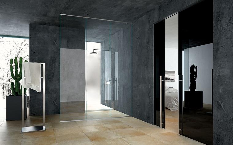 Porte scorrevoli 50 soluzioni dal design sorprendente - Porte scorrevoli bagno ...