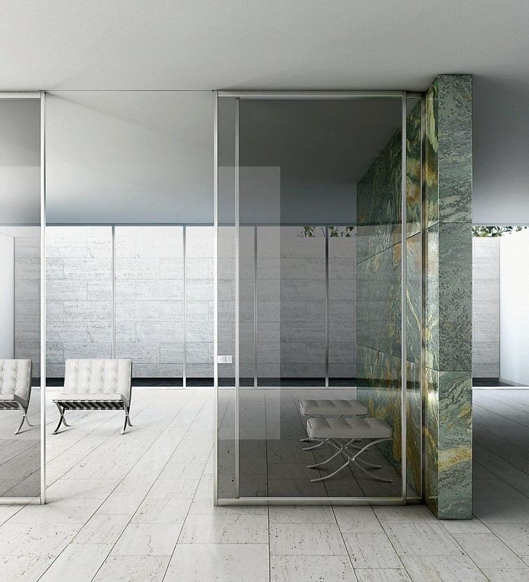 Porte scorrevoli 50 soluzioni dal design sorprendente - Porte scorrevoli per cucina ...