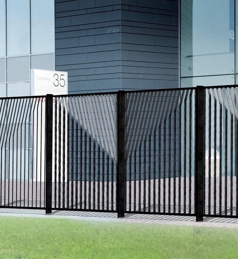 recinzione-giardino-metallo-nero