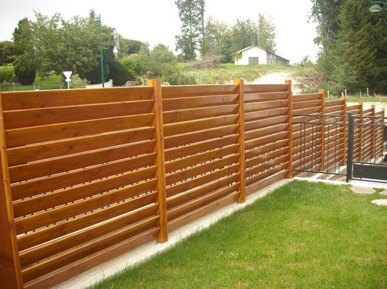 recinzioni giardino 25 idee fra legno metallo e piante