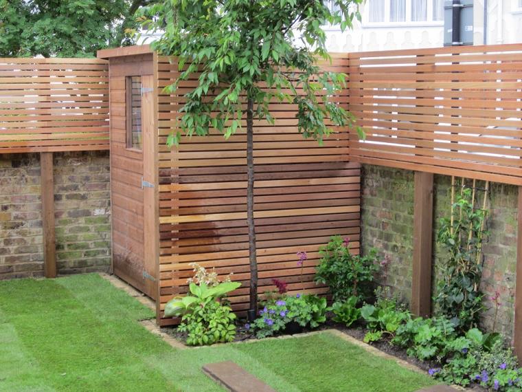 recinzioni giardino-liste-legno