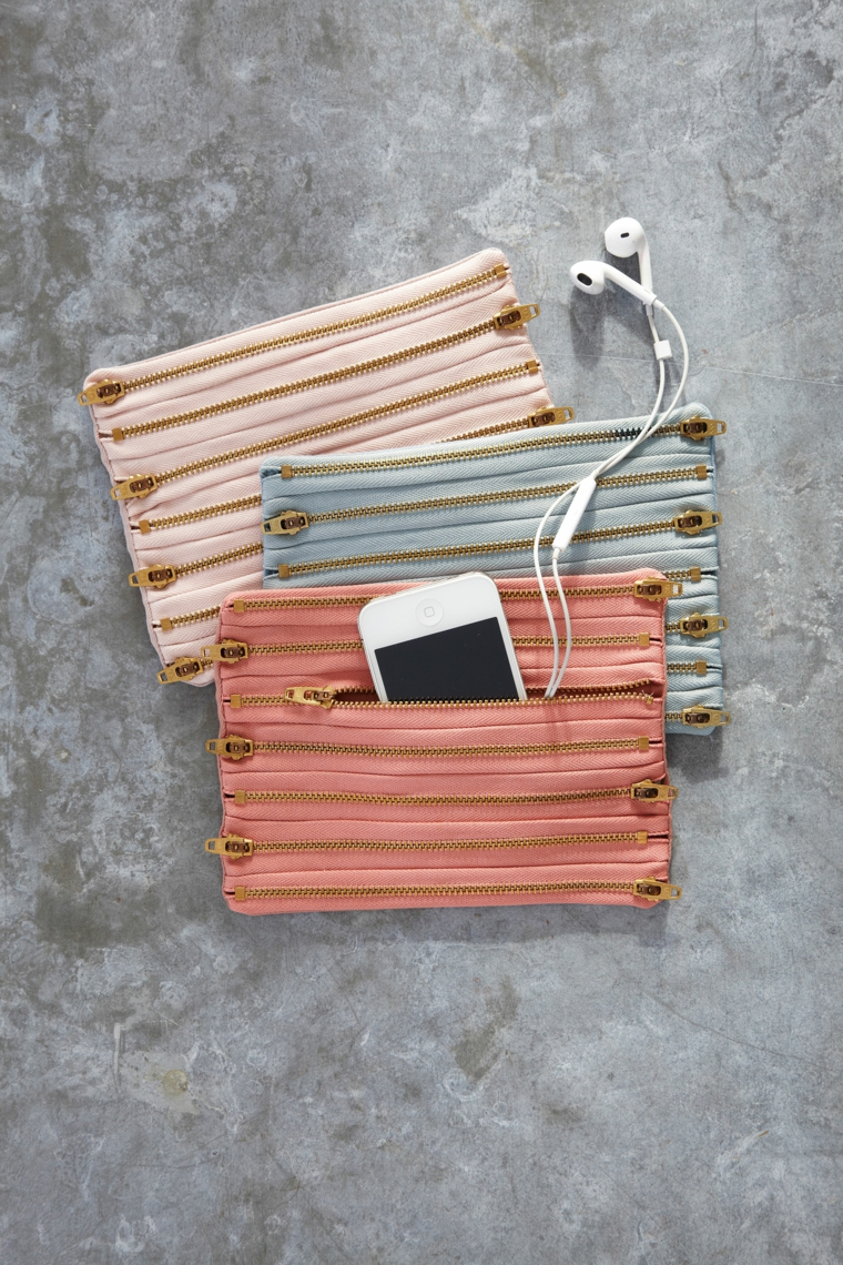 regali-di-natale-per-lei-originali-porta-tutto-diversi-colori-borchiette-dorate-lati-cerniera