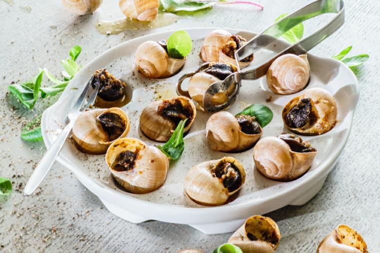 primi-piatti-veloci-lumache-alla-francese-presentazione-stile-originale
