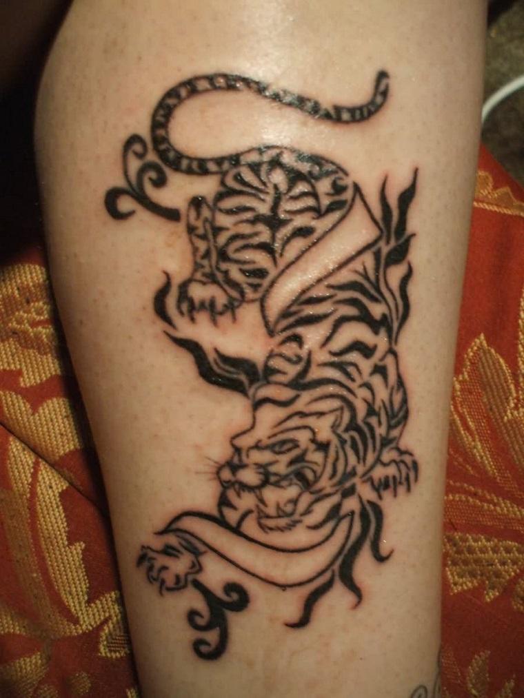 tatuaggi-avambraccio-disegno-tribale-tigre