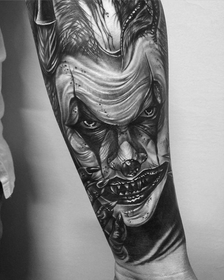 tatuaggi-avambraccio-faccia-jocker