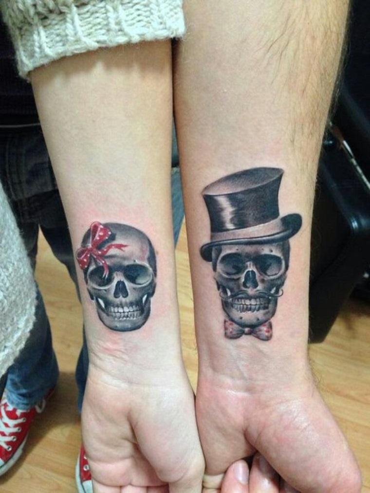 tatuaggi-polso-teschio-lei-lui