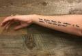 Tatuaggi scritte: sul corpo, tutta la poesia delle parole