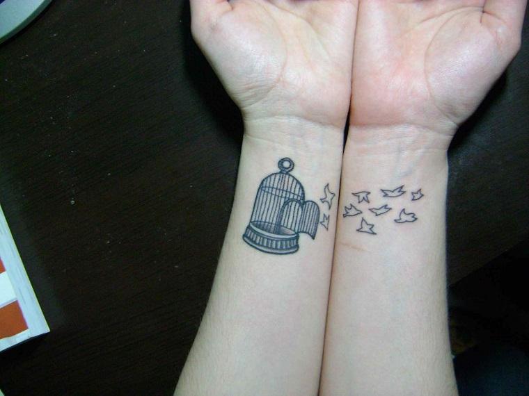 tatuaggi-sul-polso-gabbia-uccellini