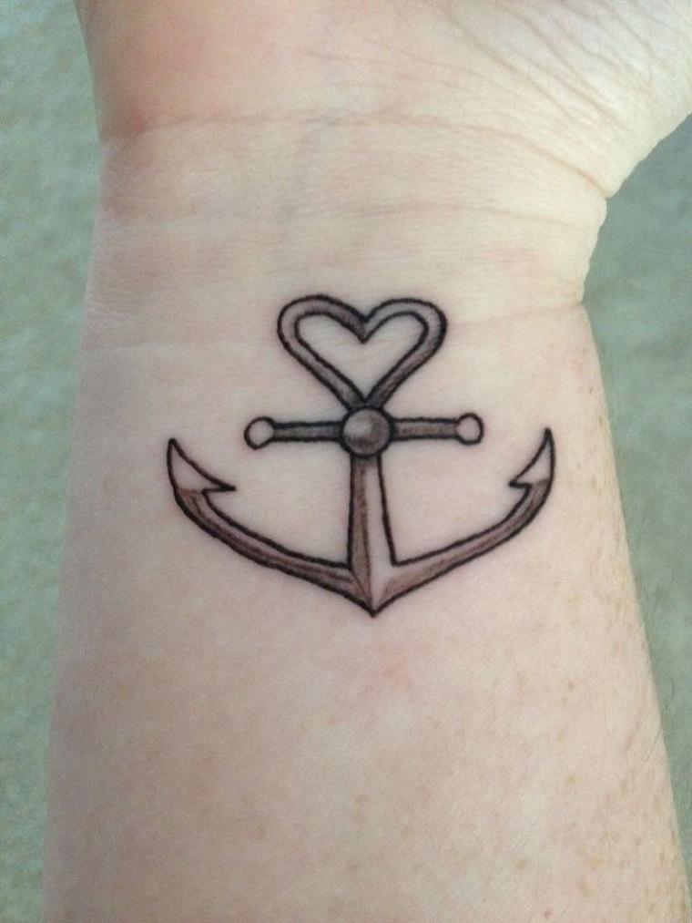 tatuaggio-sul-polso-idea-ancora-cuore