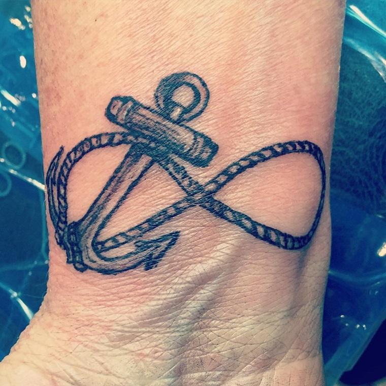 tatuaggio-sul-polso-infinito-ancora