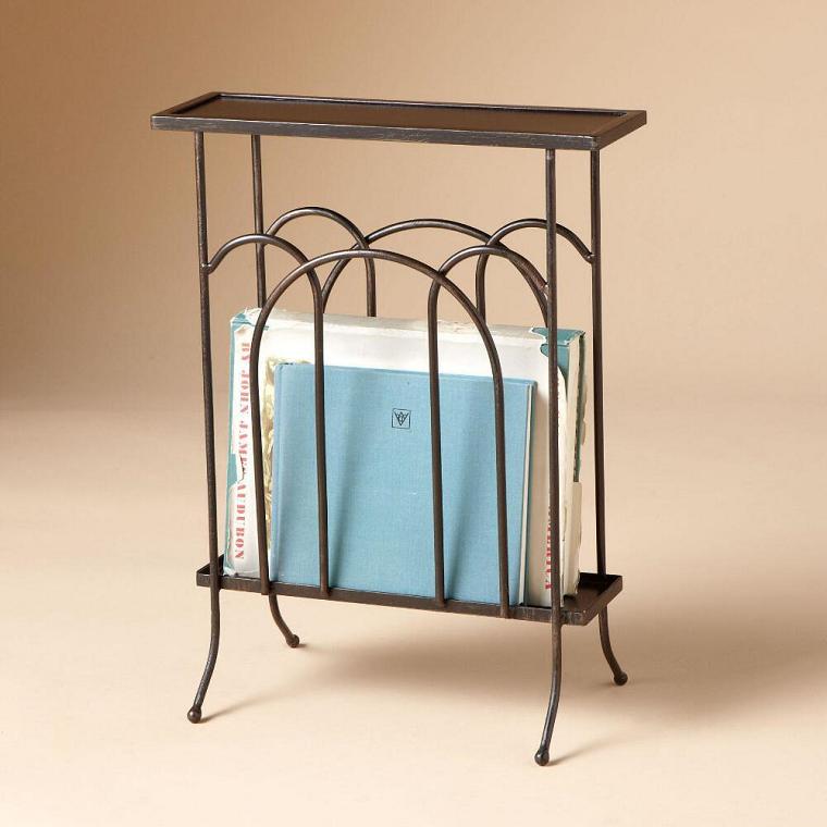 tavolo-ferro-battuto-porta-riviste