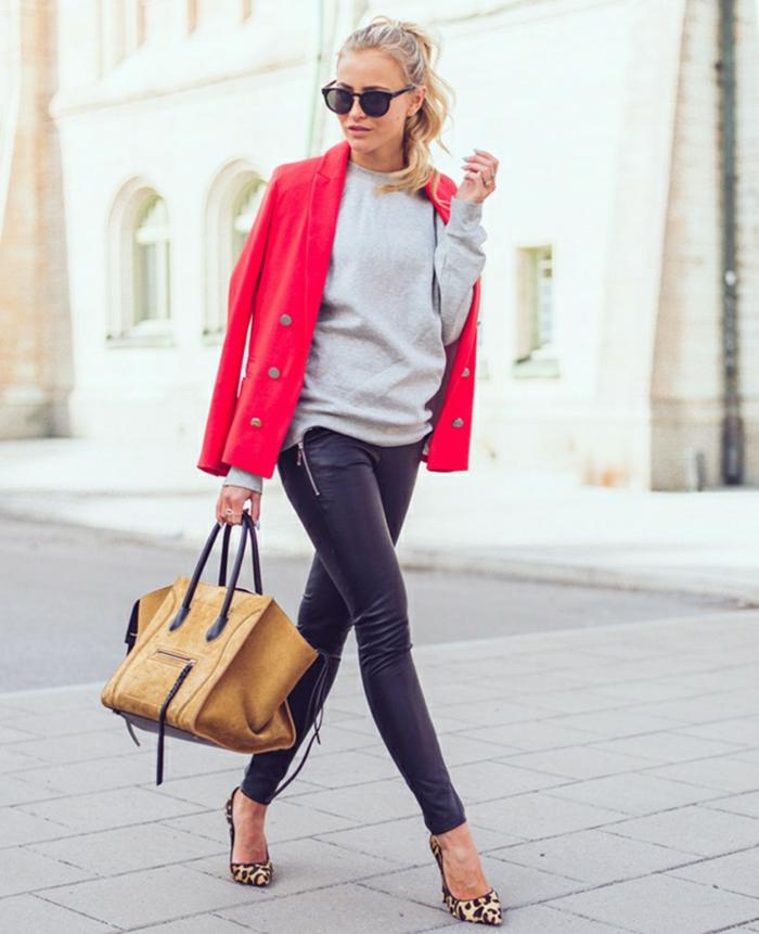 4a9e50b97dd7 Abbigliamento casual chic e le fashion hit del 2017 – 110 immagini a cui  ispirarsi