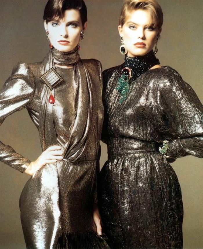 Modelli Abiti Da Sera Anni 70.Idee Di 80 Di Vestiti Anni 80 Davvero Sorprendenti