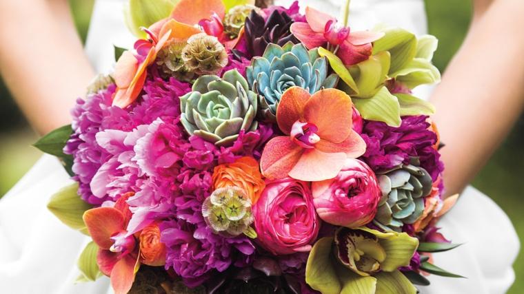 Decorazioni Matrimonio Arancione : ▷ 1001 idee di bouquet sposa per scegliere un elemento importante