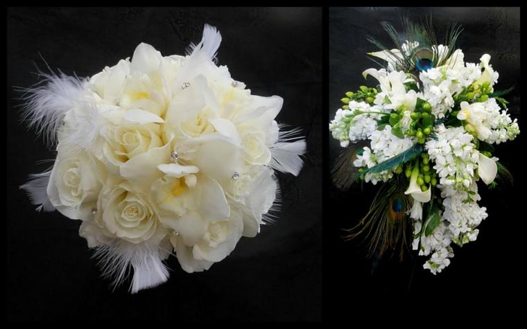 bouquet-sposa-settembre-due-proposte-bianco-prima-tonda-piume-seconda-cascata