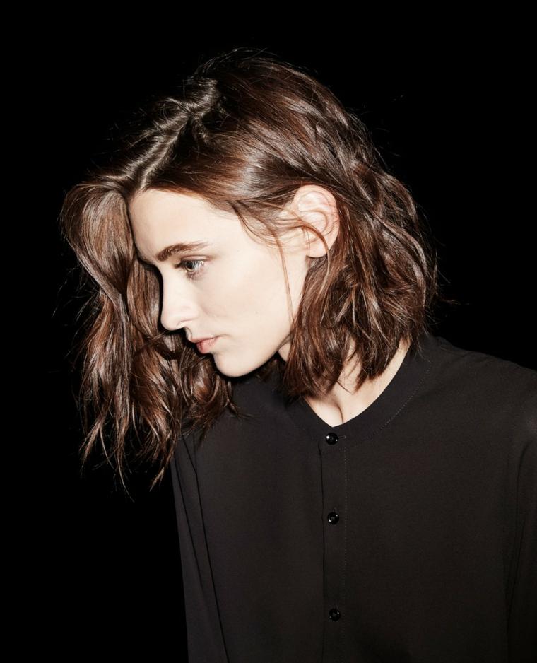 Favorito ▷ 1001 + Idee di capelli mossi, dai look corti a quelli più lunghi BX84