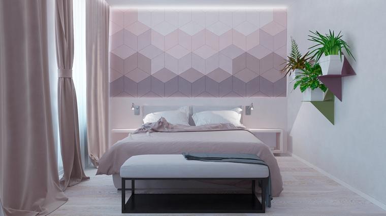 Colori parete camera da letto top colori per interni le for Colori camera da letto