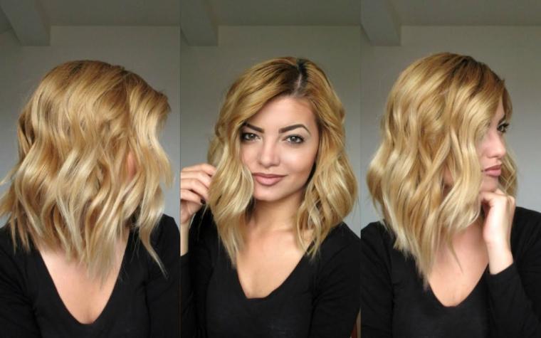 Super ▷ 1001 + Idee di capelli mossi, dai look corti a quelli più lunghi XH27