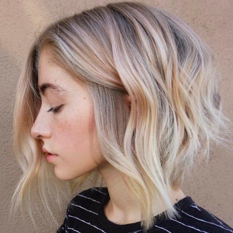Estremamente ▷ 1001 + Idee di capelli mossi, dai look corti a quelli più lunghi EJ65