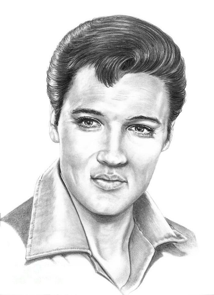 disegno-a-matita-elvis-presley-taglio-rockabilly-anni-50-giovane-uomo-stile