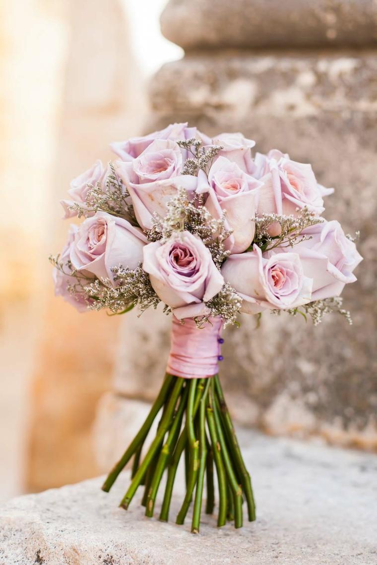 fiori-belli-bouquet-rose-rosa-nastro-rosa-gambo