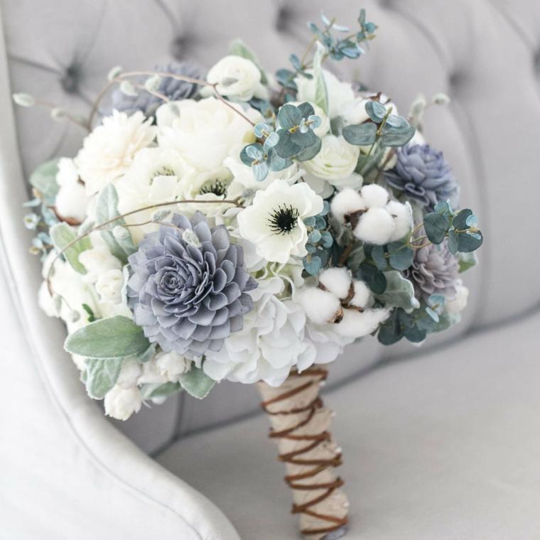 Matrimonio Bianco E Azzurro : Idee di bouquet sposa per scegliere un elemento