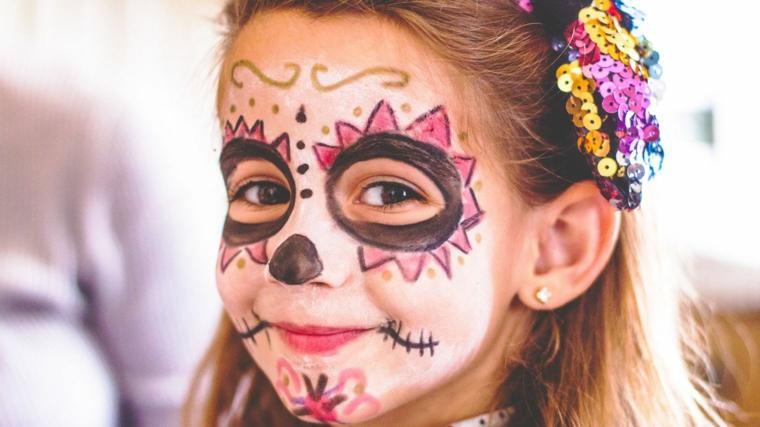 Favoloso ▷ 1001 + idee trucco Halloween - semplici da realizzare RQ12