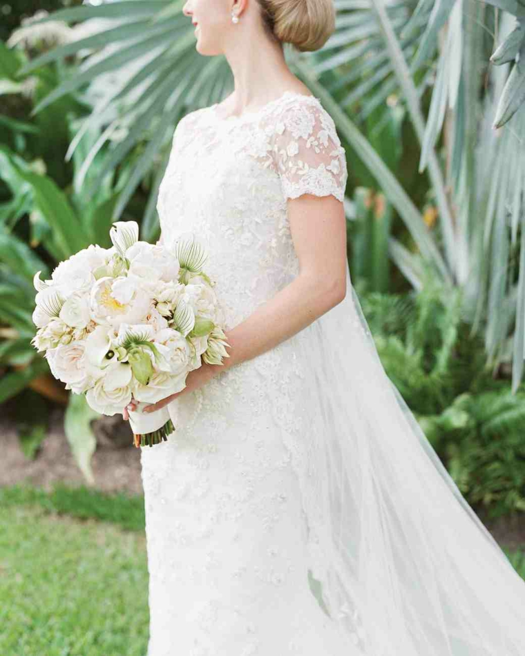 1001 idee di bouquet sposa per scegliere un elemento for Fiori verdi