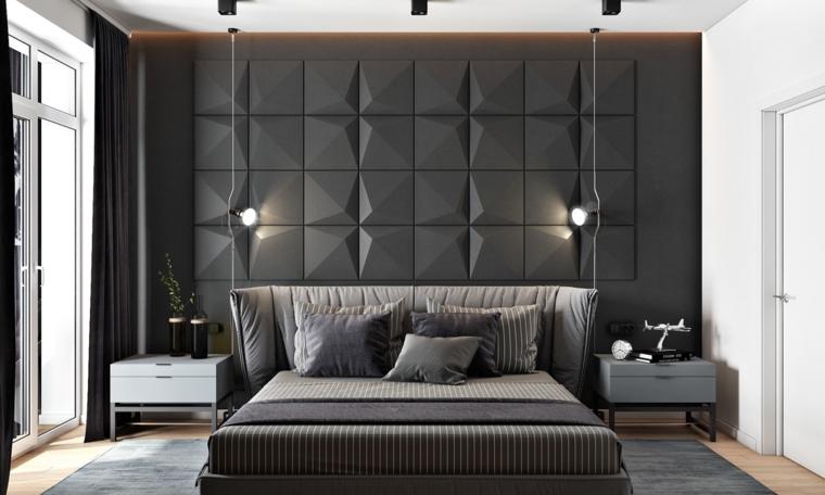 1001 idee come arredare la camera da letto con stile for Lampade per comodini moderne