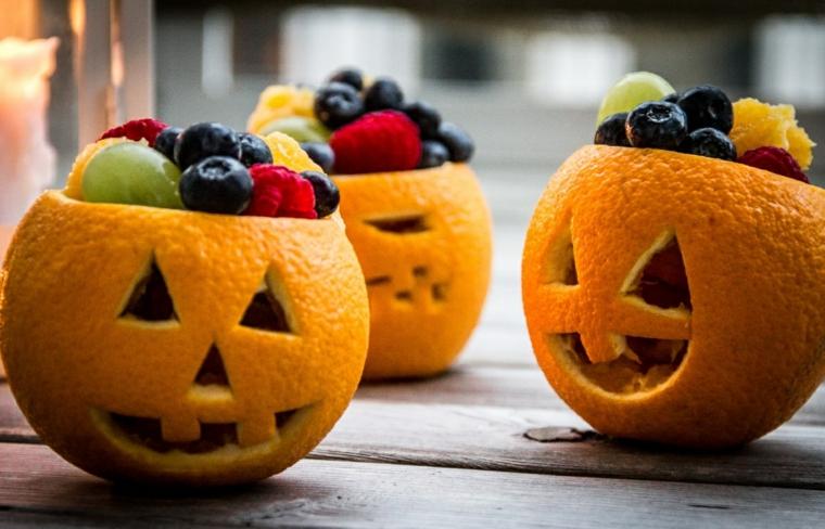 1001 idee per ricette halloween facili e gustose - Arance secche decorazione ...