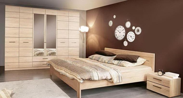 1001 idee come arredare la camera da letto con stile - Camera da letto marrone ...