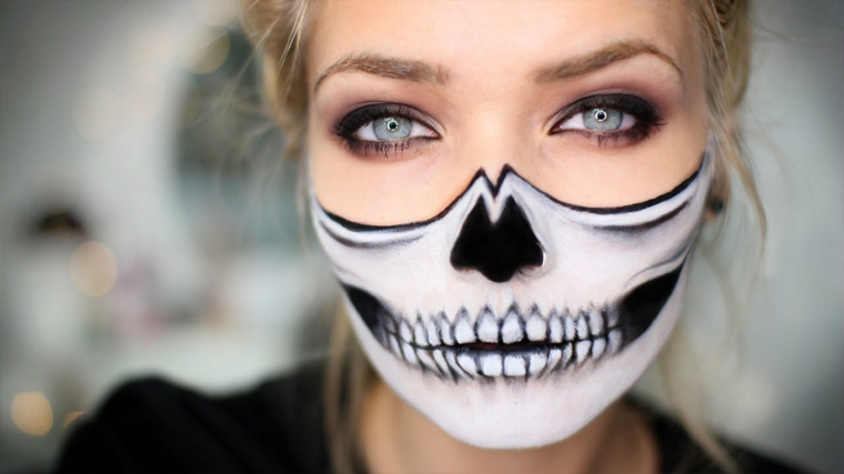 Molto ▷ 1001 + idee trucco Halloween - semplici da realizzare MP75