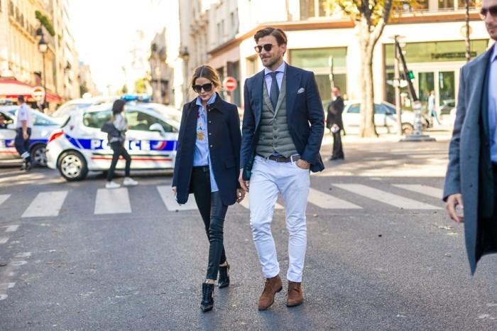 abbigliamento-casual-uomo-donna-jeans-camicia-cravatta-blazer-scarpe-eleganti-chic