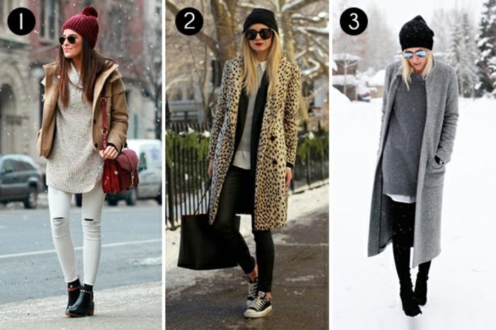 abbigliamento-informale-tre-look-copiare-giacche-scarpe-cappelli-donna-accessori-eleganti-casual