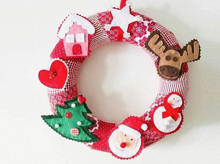 Super ▷ 1001+ idee per ghirlande natalizie anche da realizzare fai da te AC88