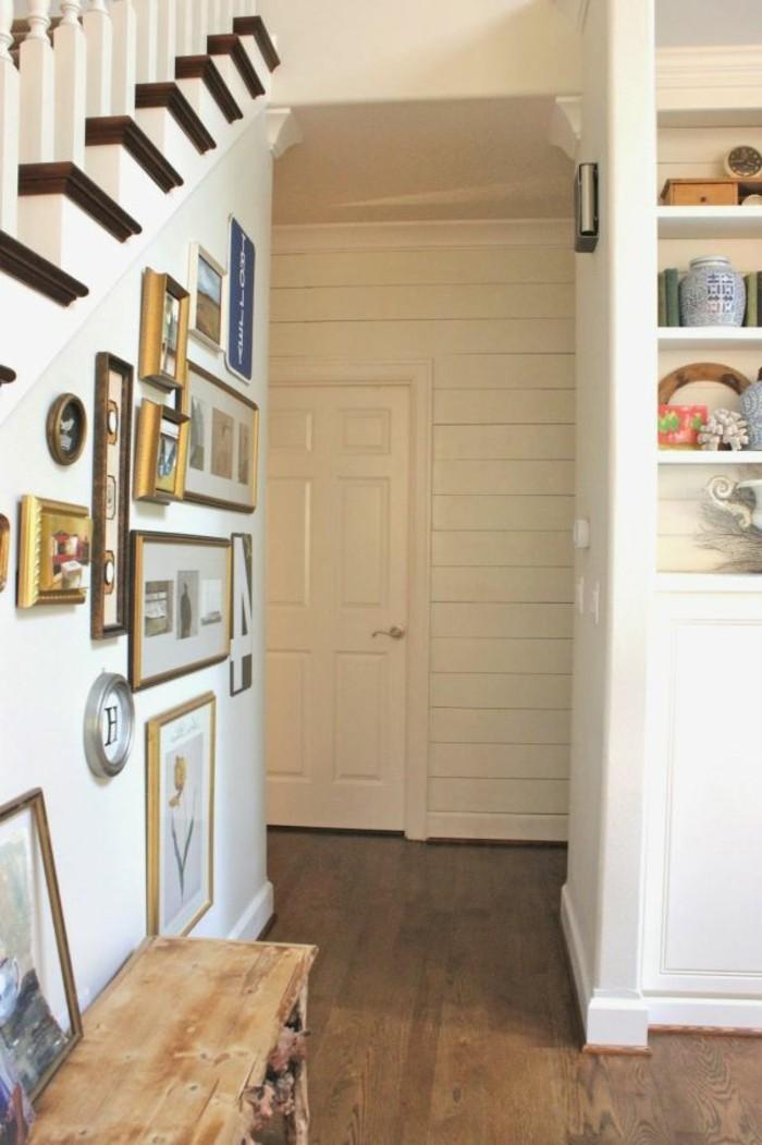 1001 idee per come arredare un corridoio stretto e lungo - Mobili per corridoio stretto ...