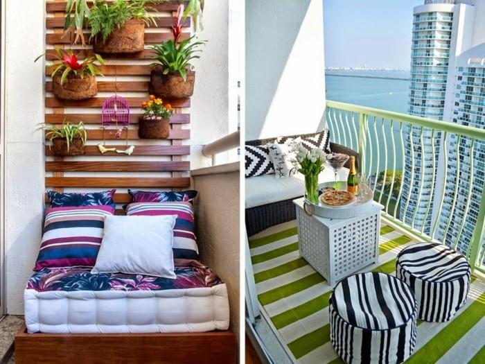 1001 idee per arredare il balcone piccolo con accenti di - Arredo terrazzo design ...