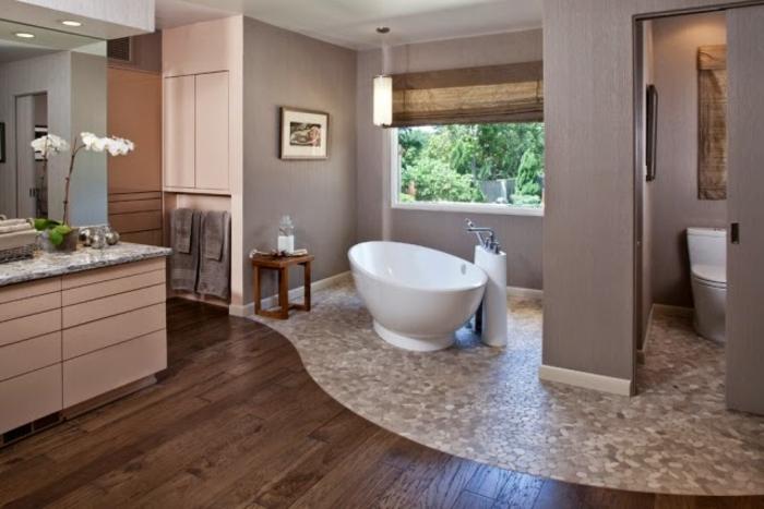 ▷ 1001 idee per il bagno senza piastrelle molto creative