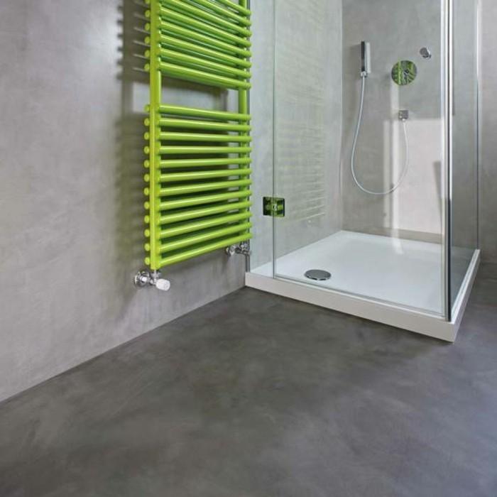 1001 idee per il bagno senza piastrelle molto creative - Pareti doccia in resina ...