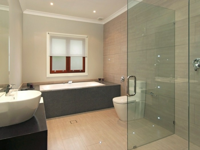 1001 idee per il bagno senza piastrelle molto creative. Black Bedroom Furniture Sets. Home Design Ideas