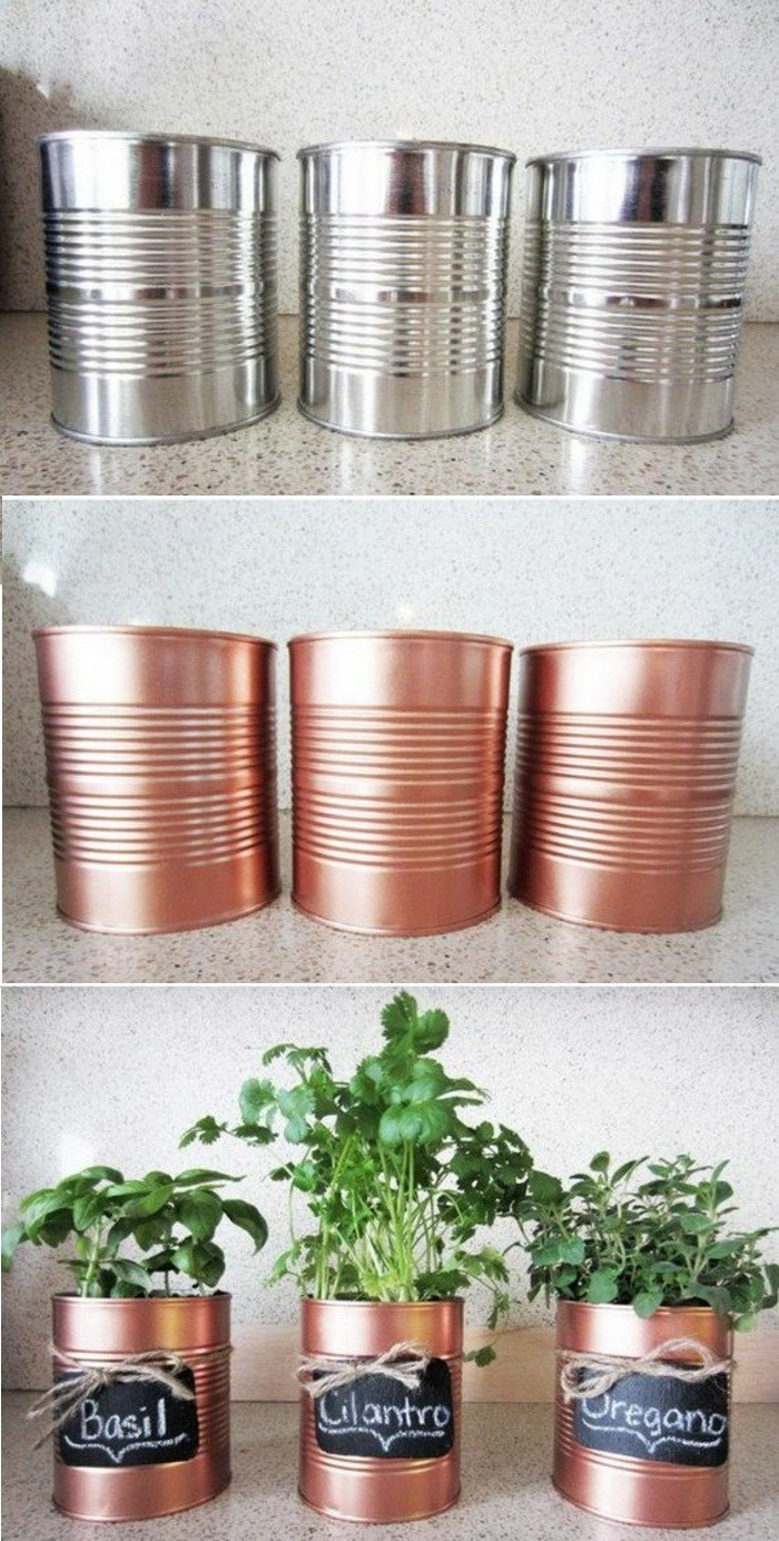 barattoli-decorati-idea-spezie-cucina-vasi-erbe-spray-color-rame