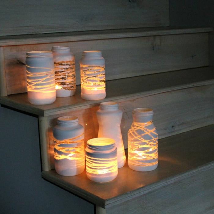 barattoli-di-vetro-lanterne-fai-da-te-decorazione-esterna-righe-vario-spessore
