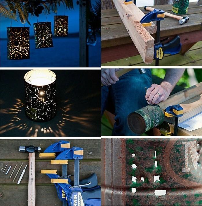 barattoli-latta-lanterna-fai-da-te-candela-strumenti-fai-da-te-realizzazione