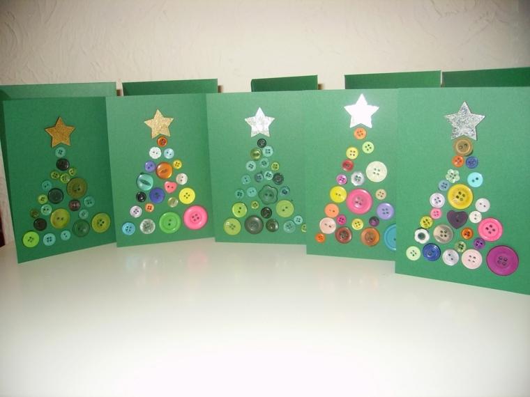 Amato ▷ 1001+ idee per biglietti di Natale originali da realizzare  DV28