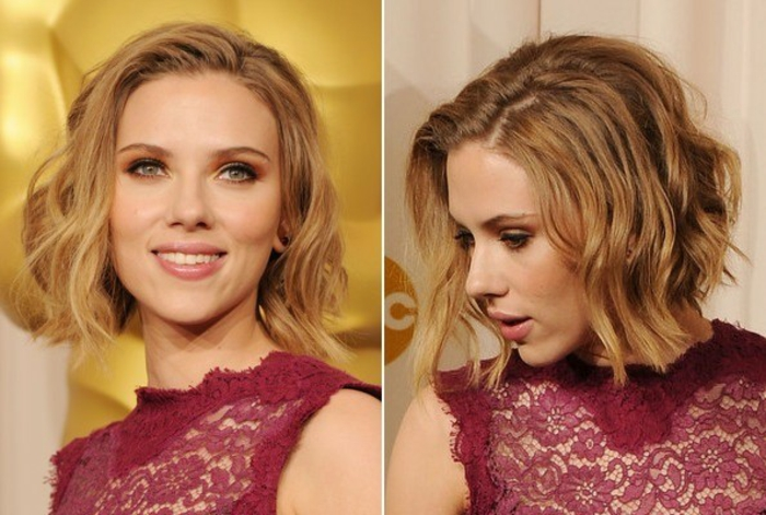 carré-corto-Scarlett-Johansson-look-ciocche-piu-lunghe-davanti-leggere-onde