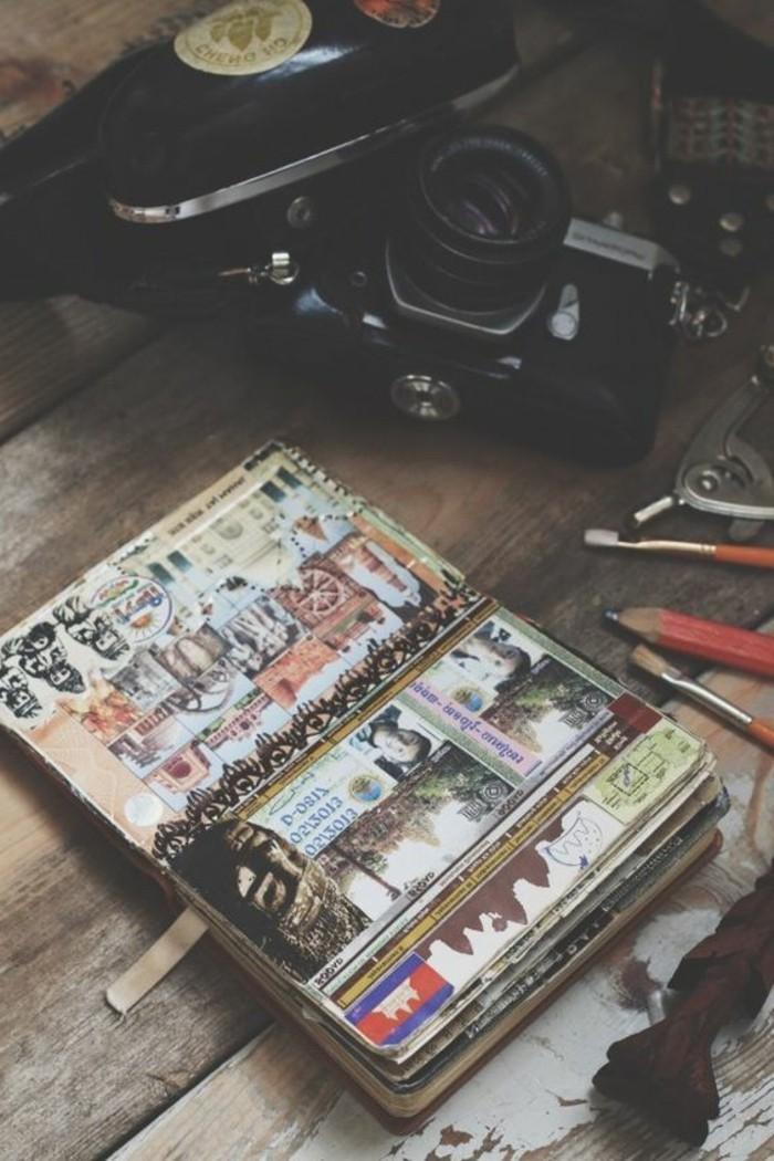 come-fare-un-diario-di-viaggio-notebook-collage-immagini-foto-colla-disegni-sticker